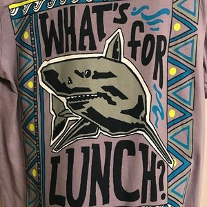 """Gymboree Shirts & Tops - Gymboree Boys """"What's for Lunch"""" Shirt-Small (5/6)"""